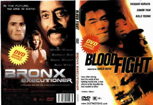 BLOOD FIGHT/ BRONX EXECUTIONER $1 DVDs SALE MART