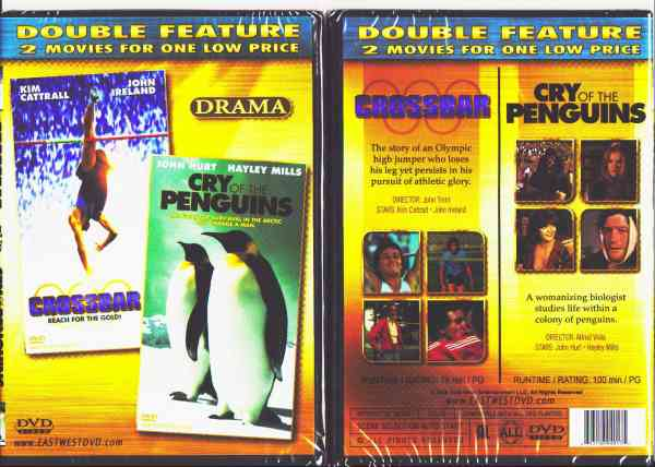 CROSSBAR/ CRY OF THE PENGUINS DVD movie