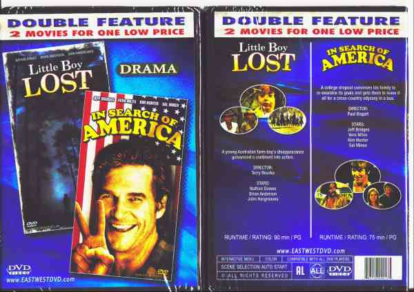 LITTLE BOY LOST/ IN SEARCH OF AMERICA DVD movie