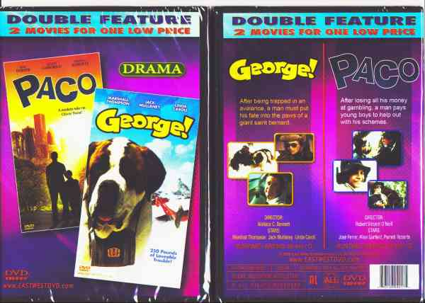 PACO/ GEORGE DVD movie