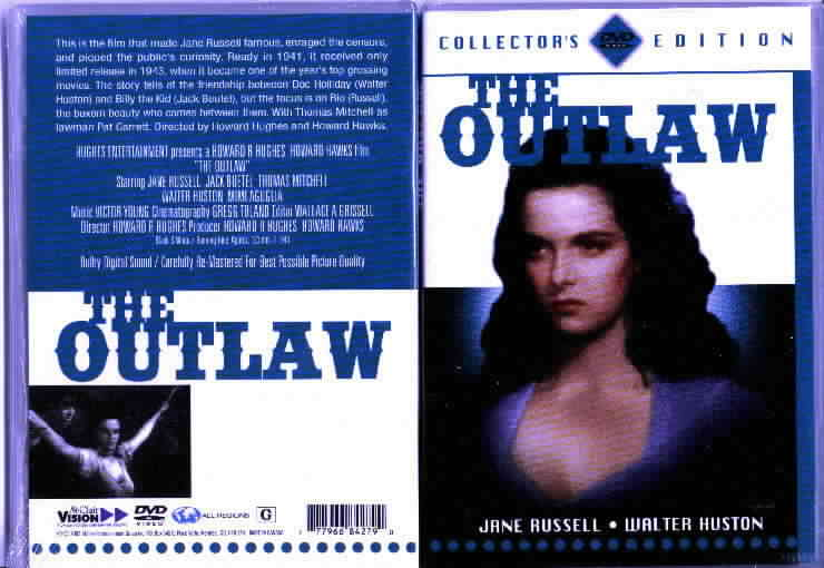 The Outlaw DVD movie