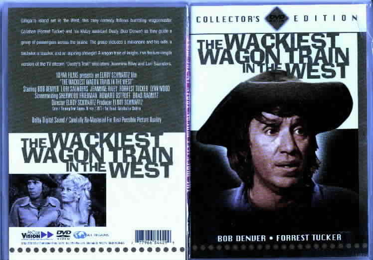 The Wackiest Wagon Train In the West DVD movie