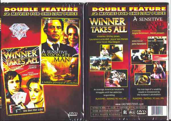 winner takes all/ a sensitive passionate man $1 DVDs SALE
