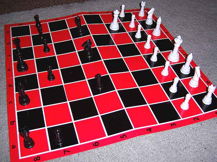 COMPLETE CHESS GAME SET, (board size varies)+ pieces- Toys