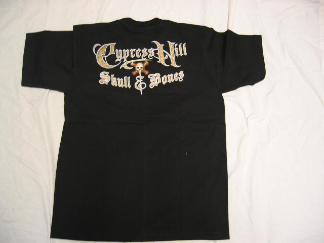 Cypress Hill- Skull and Bones -XL T-shirt