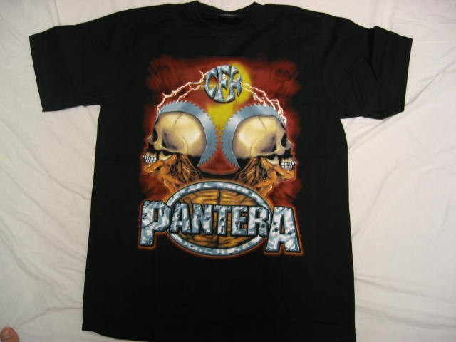 Pantera t-shirt Saw-in-Skull