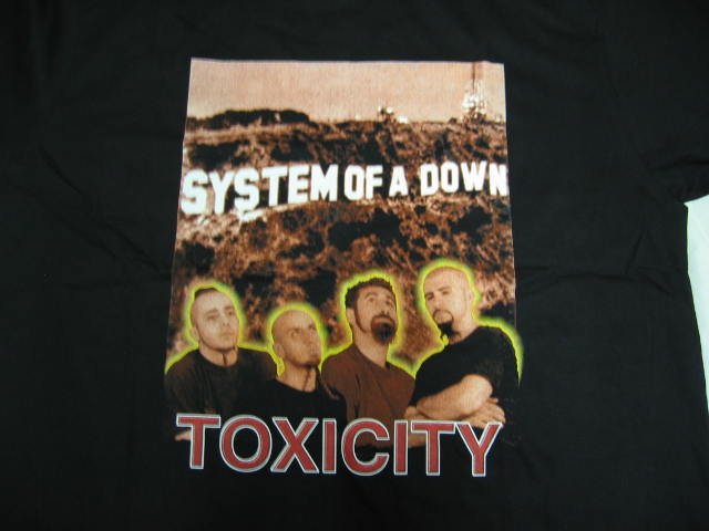 System of A Down - SOAD -Toxicity -XL T-shirt