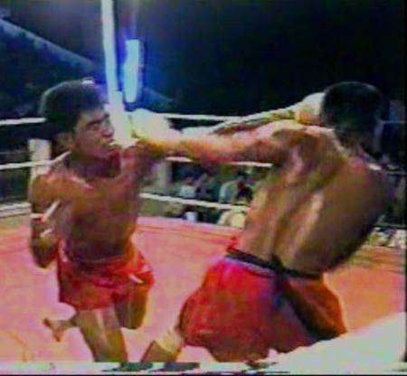 letwhayte MTB Burmese boxing gloveless fight